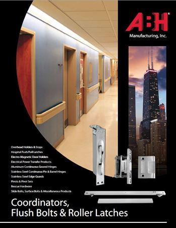 Picture for literature Coordinators, Flush Bolts & Roller Latches - ABH Mini-Catalog