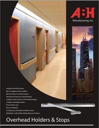 Picture for literature Overhead Stops & Holders - ABH Mini-Catalog