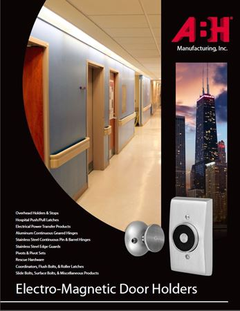 Picture for literature Electromagnetic Door Holder - ABH Mini-Catalog