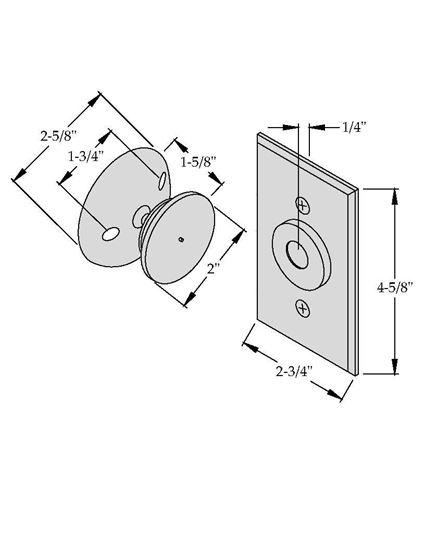 Picture of 2400 Electromagnetic Door Holder