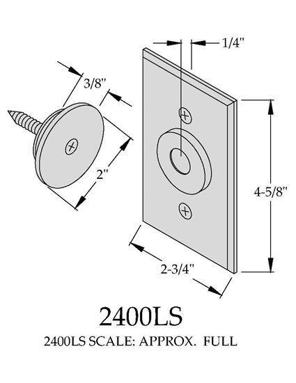 Picture of 2400LS Electromagnetic Door Holder