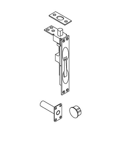 Picture of 1856 Manual Flush Bolt