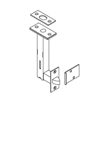 Picture of 1861S Universal Automatic Flush Bolt