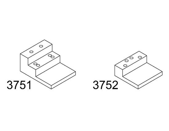 Picture of 3751 and 3752 Mounting Brackets for Coordinator