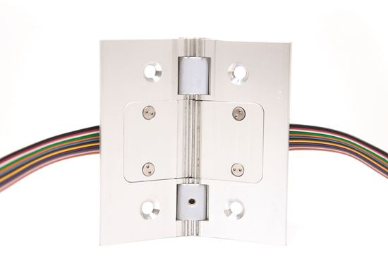 "Picture of 4"" Removable Electrified Continuous Hinge Section"