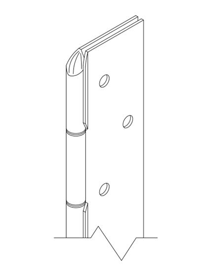 Picture of AC500 Ligature Resistant Hinge
