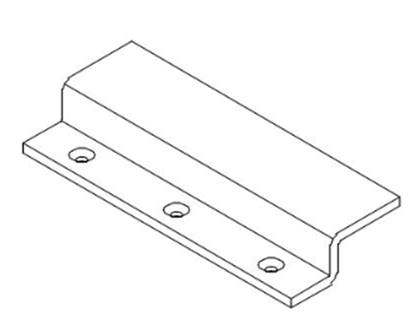 Picture of A870SPB - Strike Plate Mounting Bracket