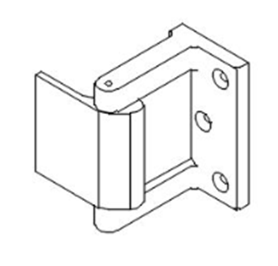Picture of 18607 Privacy Door Latch