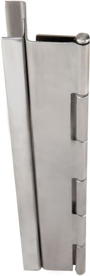 Picture of A510 Stainless Steel Continuous Hinge - Full Concealed - Swing Clear
