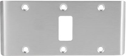 Picture of Double-Lipped Strike - Center Hung - Cylindrical Latch