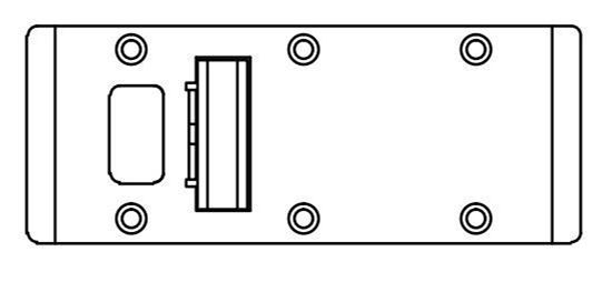 """Picture of Double-LIpped Strike & Rescue Stop Combo - Half-Moon Stop - 1/8"""" Inset - Mortise Lock No Deadbolt"""