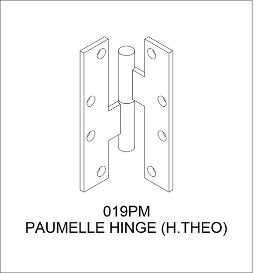 Picture of 019PM Paumelle Hinge