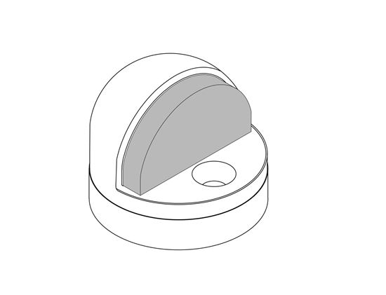Picture of 441CU Dome Stop Combo Unit with Riser