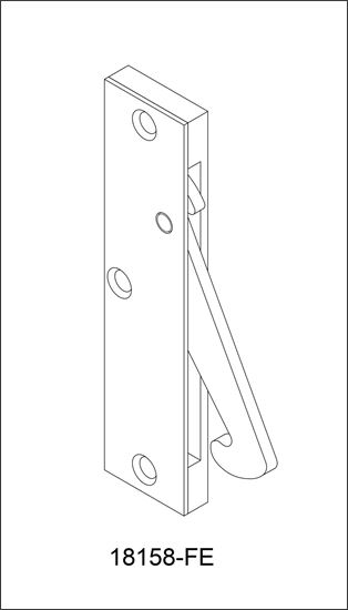 Picture of 18158-FE Concealed Edge Pull