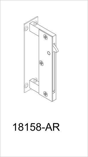 Picture of 18158-AR Slotted Edge Pull