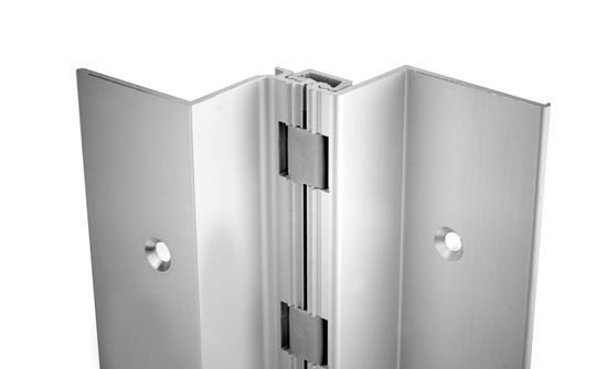 Picture of A410HD / A410LL Aluminum Continuous Gear Hinges Full Mortise Swing Clear