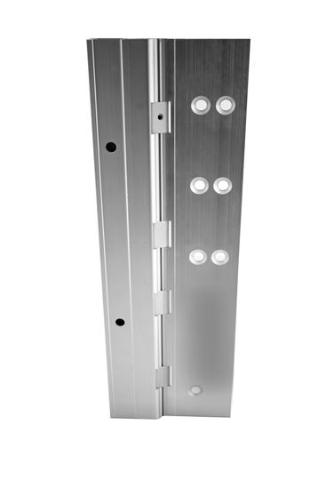 Picture of A520HD Aluminum Continuous Gear Hinge Half Mortise