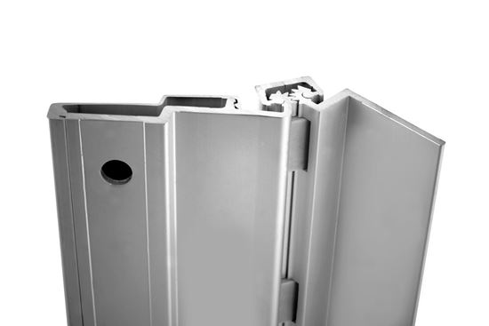 Picture of A213HD Aluminum Continuous Gear Hinges Half Surface