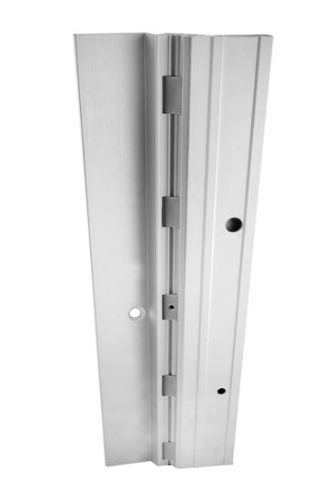 Picture of A550HD Aluminum Continuous Gear Hinges Half Surface
