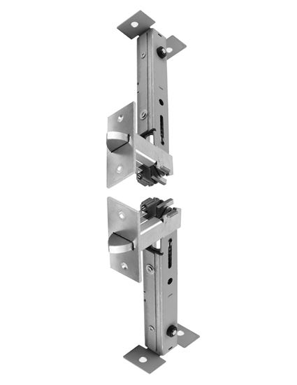 Picture of 1873P Universal Self Latching Top Bolt and Universal Automatic Bottom Bolt